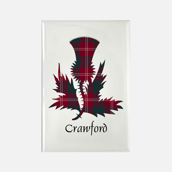 Thistle - Crawford Rectangle Magnet