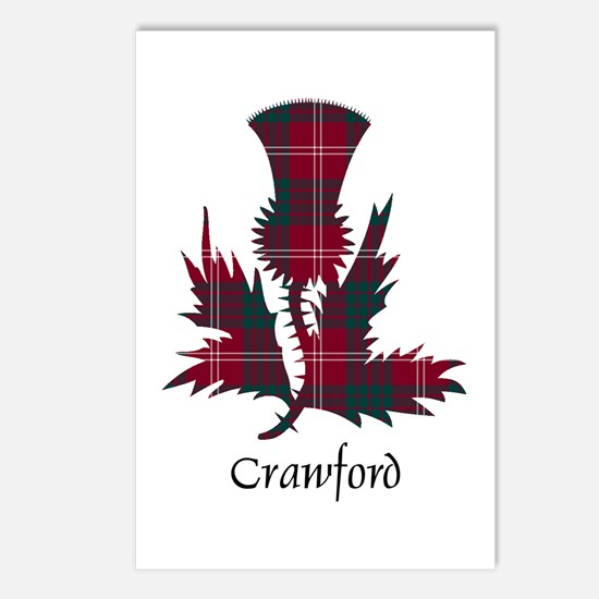 Thistle - Crawford Postcards (Package of 8)