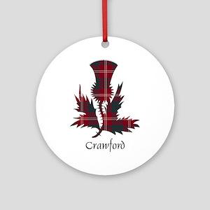 Thistle - Crawford Ornament (Round)