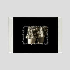 School Skirt Rectangle Magnet
