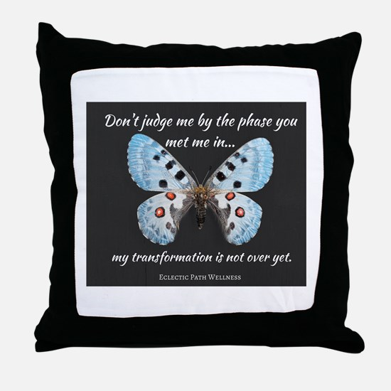 Eclectic Path - Transformation Throw Pillow