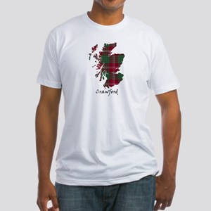 Map - Crawford Fitted T-Shirt