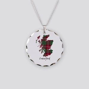 Map - Crawford Necklace Circle Charm