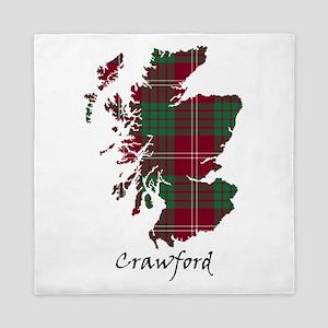 Map - Crawford Queen Duvet