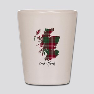 Map - Crawford Shot Glass