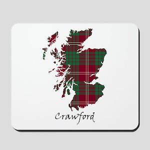 Map - Crawford Mousepad