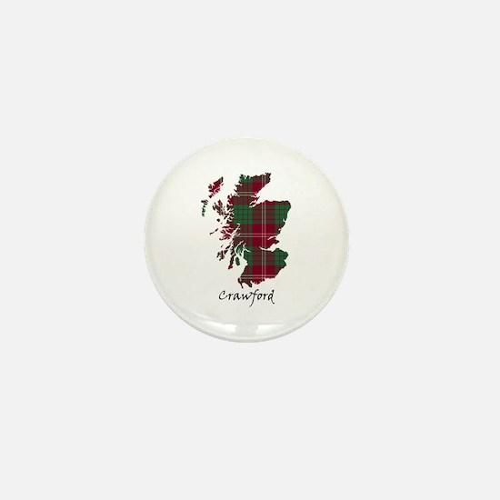 Map - Crawford Mini Button