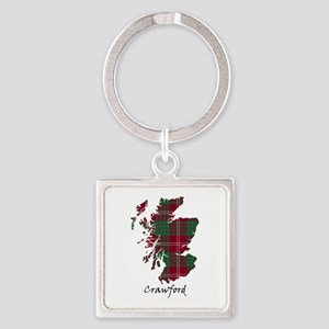 Map - Crawford Square Keychain