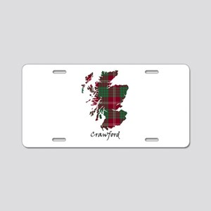 Map - Crawford Aluminum License Plate