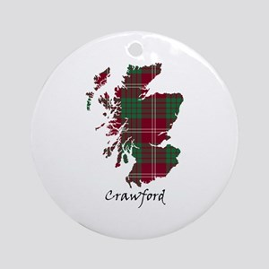 Map - Crawford Ornament (Round)