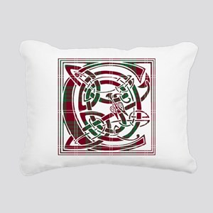 Monogram - Crawford Rectangular Canvas Pillow