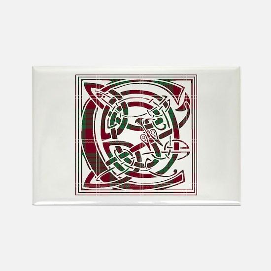 Monogram - Crawford Rectangle Magnet