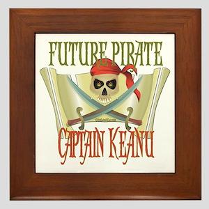 Captain Keanu Framed Tile