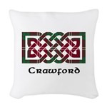 Knot - Crawford Woven Throw Pillow