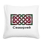 Knot - Crawford Square Canvas Pillow