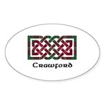 Knot - Crawford Sticker (Oval 50 pk)