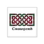 Knot - Crawford Square Sticker 3