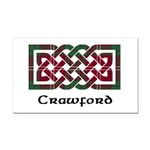 Knot - Crawford Rectangle Car Magnet