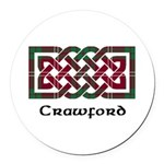 Knot - Crawford Round Car Magnet