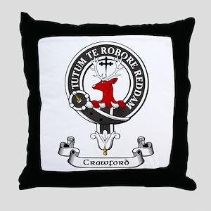 Badge - Crawford Throw Pillow