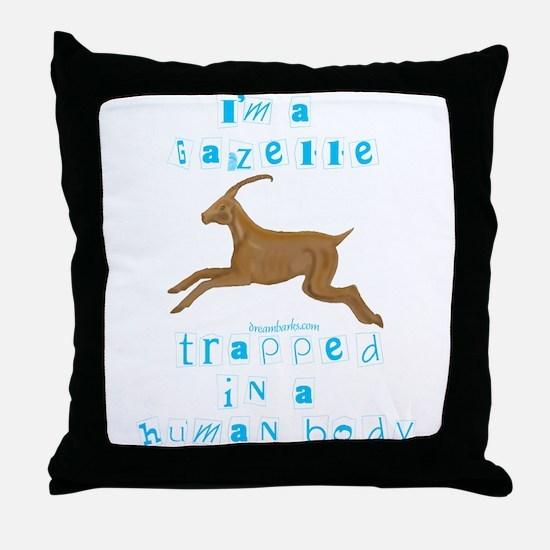 I'm a Gazelle Throw Pillow
