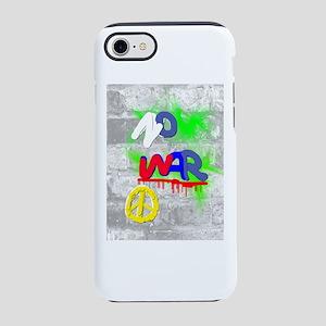 NO WAR PEACE iPhone 8/7 Tough Case