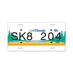 License to Ill 2.0 Aluminum License Plate
