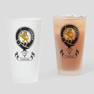 Badge - Cumming Drinking Glass