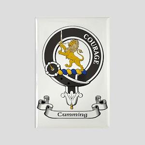 Badge - Cumming Rectangle Magnet