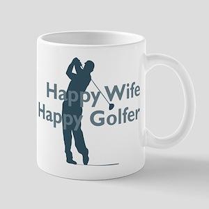 Happy Golfer Mugs