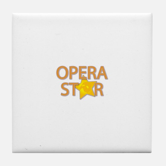 Opera STAR Tile Coaster