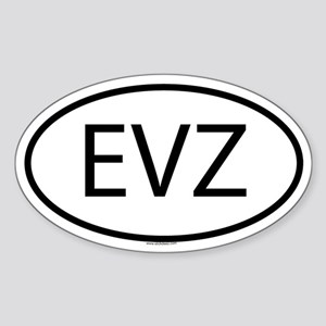 EVZ Oval Sticker