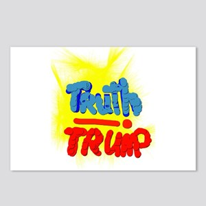 TRUTH! TRUMP Postcards (Package of 8)