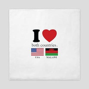 USA-MALAWI Queen Duvet