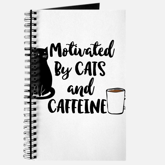 Motivated By Cat And Caffine Journal