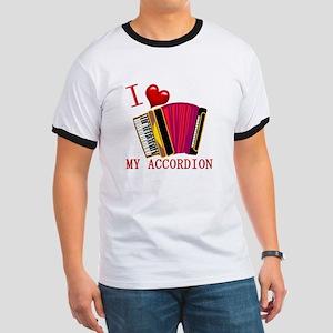 I Love My ACCORDION Ringer T