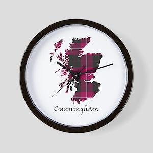 Map - Cunningham Wall Clock