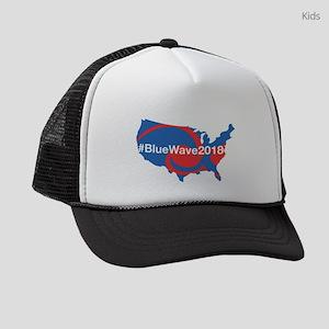 BlueWave2018 Kids Trucker hat
