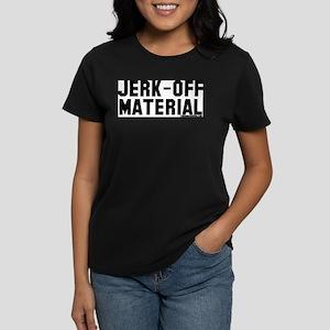 Jerk-Off Material Ash Grey T-Shirt