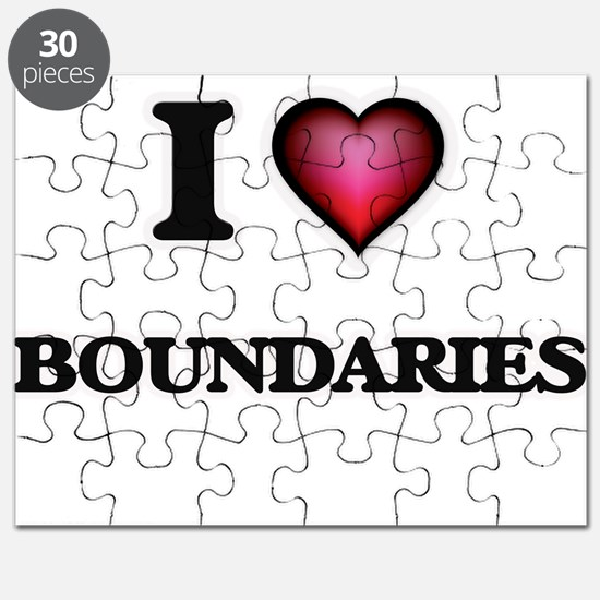 I Love Boundaries Puzzle