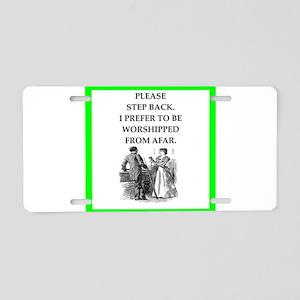 Biliards joke Aluminum License Plate