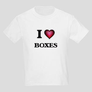 I Love Boxes T-Shirt