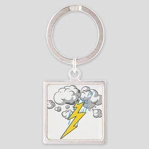 Thunder and Lightning Keychains