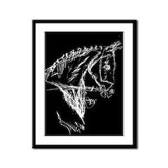 Dark Horse Framed Panel Print