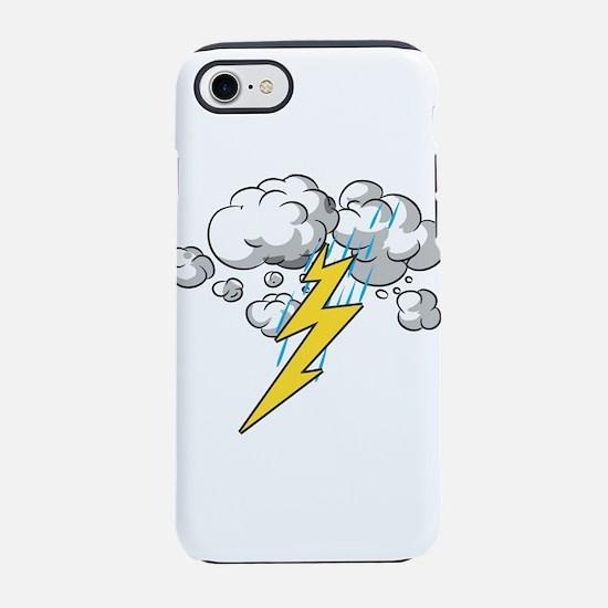 Thunder and Lightning iPhone 8/7 Tough Case