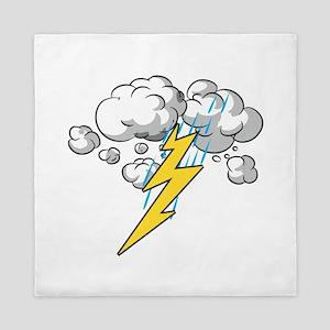 Thunder and Lightning Queen Duvet