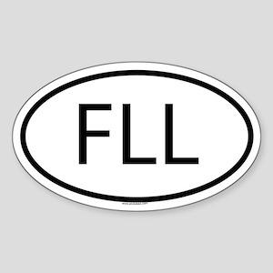 FLL Oval Sticker