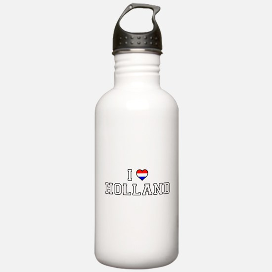 I Love Holland Water Bottle