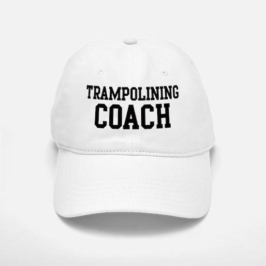 TRAMPOLINING Coach Baseball Baseball Cap