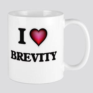 I Love Brevity Mugs